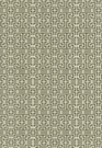 SCHUMACHER CHINOIS FRET FABRIC NOIR/ALMOND