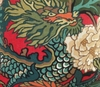 SCHUMACHER CHINOISERIE CHIANG MAI DRAGON FABRIC LACQUER