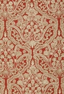 SCHUMACHER CLAREMONT CREWEL EMBROIDEREY FABRIC TUSCAN