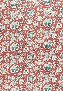 SCHUMACHER DECO FLOWER FABRIC BERRY
