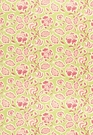 SCHUMACHER DECO FLOWER FABRIC SHERBET