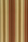 SCHUMACHER DELAFORD SILK STRIPE FABRIC TUSCAN