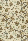 SCHUMACHER EASTBURY MANOR PRINT FABRIC MOONSTONE