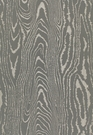 SCHUMACHER FAUX BOIS WEAVE SILK FABRIC CHARCOAL