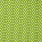 SCHUMACHER FISHNET COTTON FABRIC LEAF