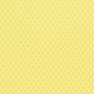 SCHUMACHER FISHNET COTTON FABRIC YELLOW