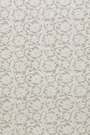 SCHUMACHER FLORAL CUTWORK SHEER FABRIC NATURAL