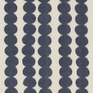 SCHUMACHER FULL CIRCLE COTTON FABRIC NAVY