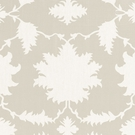 SCHUMACHER GARDEN OF PERSIA LINEN FABRIC DOVE