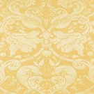 SCHUMACHER GAVOTTE BROCATELLE DAMSK FABRIC GOLD