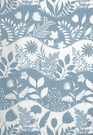 SCHUMACHER GOOD DAY SUNSHINE FABRIC CHINA BLUE