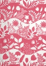 SCHUMACHER GOOD DAY SUNSHINE FABRIC FLAMINGO
