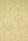 SCHUMACHER HATFIELD SILK DEMASK FABRIC BRONZE