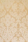 SCHUMACHER HATFIELD SILK DEMASK FABRIC SESAME