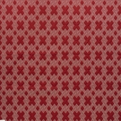 SCHUMACHER HIX EMBROIDERED FABRIC RED