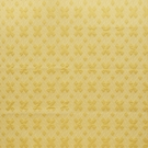 SCHUMACHER HIX EMBROIDERED FABRIC YELLOW