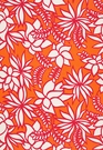 SCHUMACHER KALAHEO PRINT INDOOR / OUTDOOR  FABRIC HIBISCUS