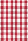 SCHUMACHER KEY WEST LINEN CHECK FABRIC CHERRY