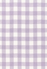 SCHUMACHER KEY WEST LINEN CHECK FABRIC LAVENDER