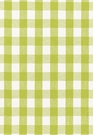 SCHUMACHER KEY WEST LINEN CHECK FABRIC LIME