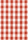 SCHUMACHER KEY WEST LINEN CHECK FABRIC PERSIMMON