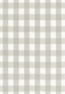 SCHUMACHER KEY WEST LINEN CHECK FABRIC ZINC