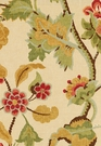 SCHUMACHER KHANTAU TREE LINEN FABRIC HONEY