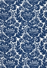 SCHUMACHER LOUISE NUI PRINT INDOOR / OUTDOOR FABRIC OCEAN