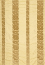 SCHUMACHER MANDARIN SILK STRIPE FABRIC GOLD DUST
