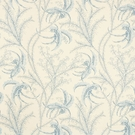 SCHUMACHER OCEAN TOILE COTTON FABRIC DELFT