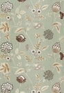 SCHUMACHER PALAMPORE EMBROIDERY FABRIC MINERAL