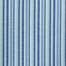 SCHUMACHER PRIMAVERA STRIPE INDOOR/OUTDOOR FABRIC SEA