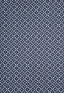 SCHUMACHER QUARTREFAUX LINEN FABRIC MIDNIGHT