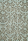 SCHUMACHER RAVENNA EMBROIDEREY SILK FABRIC MINERAL