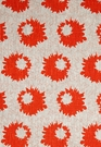 SCHUMACHER SALLY COTTON FLORAL FABRIC FIRE