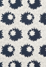 SCHUMACHER SALLY COTTON FLORAL FABRIC MIDNIGHT