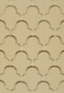 SCHUMACHER SCALLOP EMBROIDEREY FABRIC SESAME