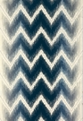 SCHUMACHER SHOCK WAVE SILK VELVET FABRIC MIDNIGHT