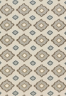 SCHUMACHER SIKAR EMBROIDERY FABRIC FLAX