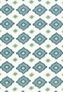 SCHUMACHER SIKAR EMBROIDERY FABRIC SKY