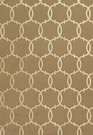SCHUMACHER SILK TRACERY FABRIC MOCHA