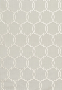 SCHUMACHER SILK TRACERY FABRIC PEARL