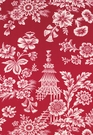 SCHUMACHER SONG GARDEN CHINOISERIE TOILE FABRIC LACQUER