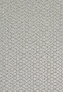 SCHUMACHER SPRINKLE SILK FABRIC AQUA