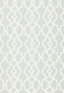 SCHUMACHER SUMMER PALACE LINEN FABRIC MINERAL