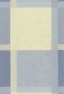 SCHUMACHER SURAT SILK PLAID FABRIC BLUEBELL