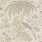 SCHUMACHER THICKET LINEN FABRIC WISP