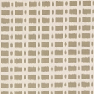 SCHUMACHER TOWNLINE ROAD LINEN FABRIC BROWN