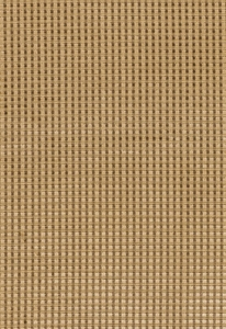SCHUMACHER TRIANON VELVET CHECK FABRIC TEAK