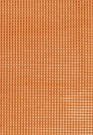 SCHUMACHER TRIANON VELVET CHECK FABRIC TERRACOTTA